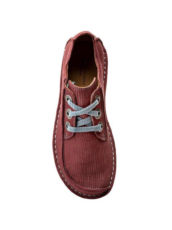 Clarks Clarks Обувки Funny Dream 261323384 Бордо