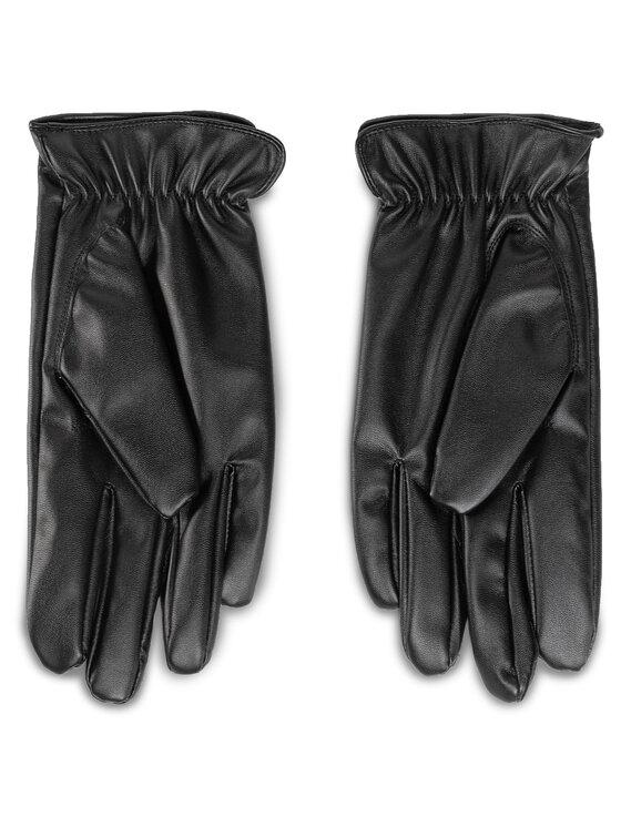 Trussardi Jeans Trussardi Jeans Mănuși pentru Bărbați Gloves Logo 57Z00201 Negru