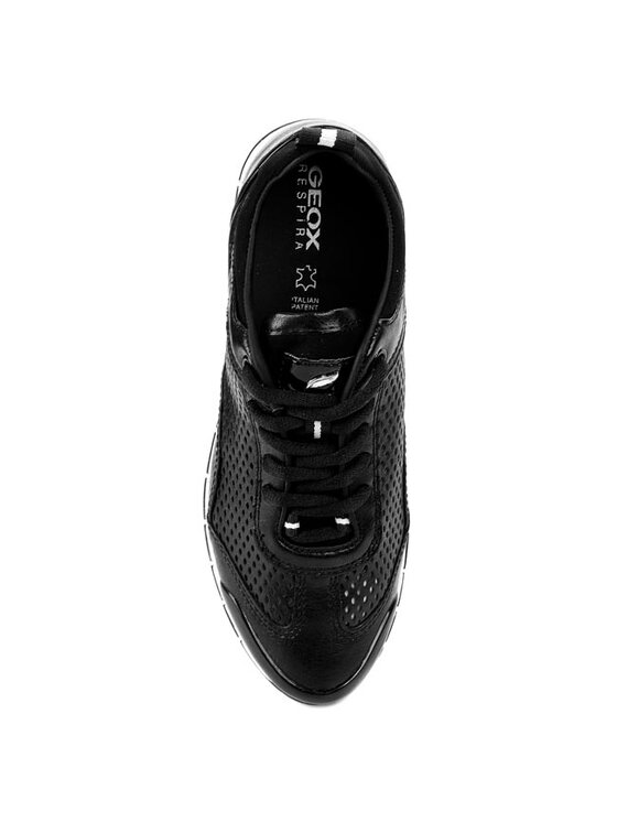 Geox Geox Pantofi D Contact M D3206M 000BU C9999 Negru