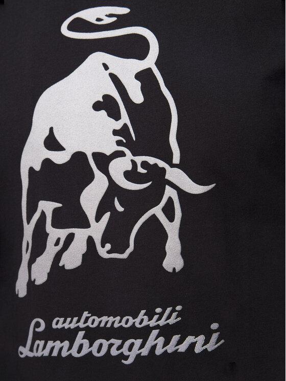 Lamborghini Lamborghini T-Shirt B3XUB7S8 Černá Regular Fit