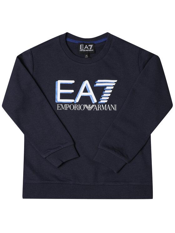 EA7 Emporio Armani EA7 Emporio Armani Mikina 3HBM53 BJ05Z 1554 Tmavomodrá Regular Fit