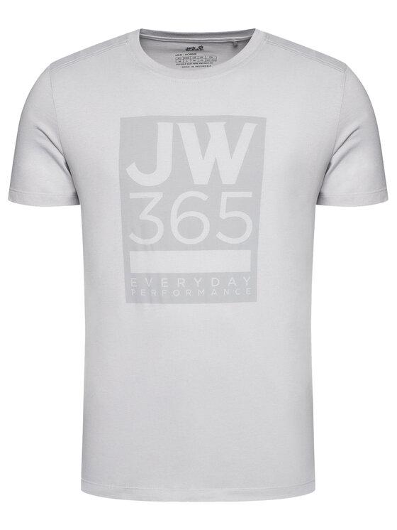 Jack Wolfskin Jack Wolfskin T-Shirt 365 T 1806621 Szary Regular Fit