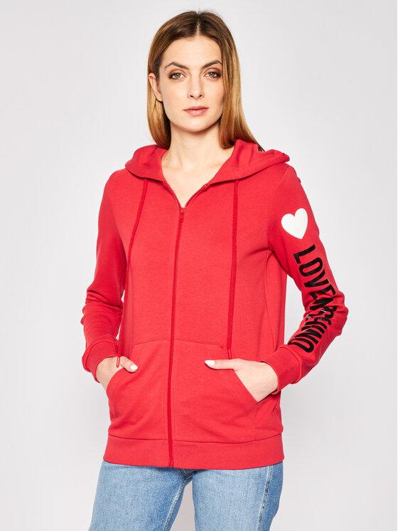 LOVE MOSCHINO LOVE MOSCHINO Μπλούζα W333307M 4165 Κόκκινο Regular Fit