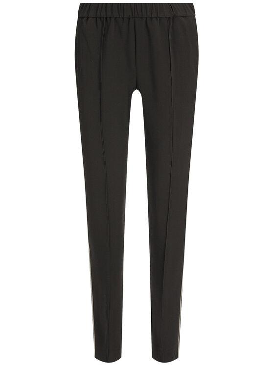 Calvin Klein Calvin Klein Pantaloni chino Travel Crepe Side Stripe K20K201715 Nero Regular Fit