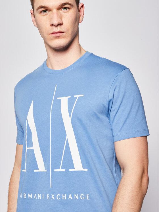 Armani Exchange Armani Exchange T-Shirt 8NZTPA ZJH4Z 1515 Niebieski Regular Fit