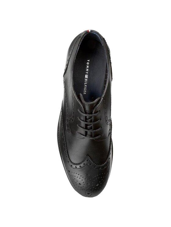 Tommy Hilfiger Tommy Hilfiger Κλειστά παπούτσια Dominic 1A FM56821924 Μαύρο