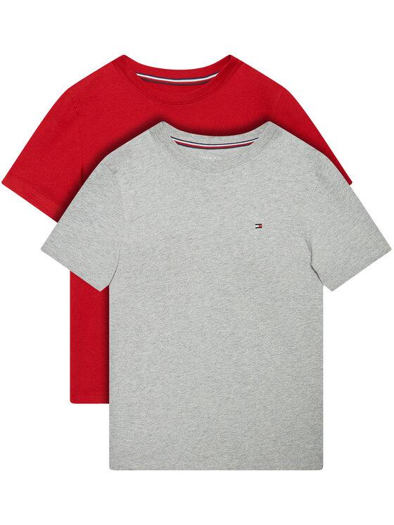 Tommy Hilfiger 2 marškinėlių komplektas UB0UB00310 Pilka Regular Fit
