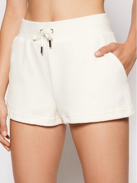 Juicy Couture Sportiniai šortai Eve JCWH121092 Balta Regular Fit