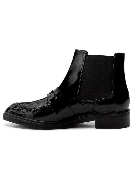 Joop! Joop! Členková obuv s elastickým prvkom Platia 4140003526 Čierna