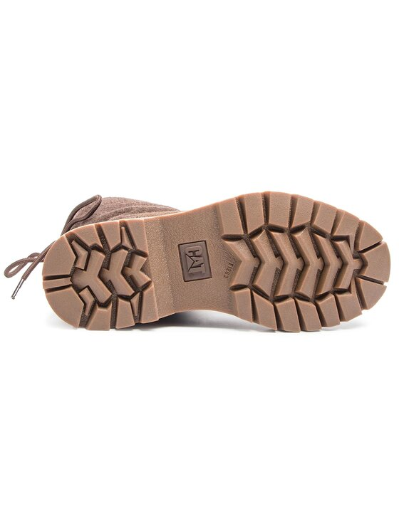 CATerpillar CATerpillar Členková obuv Showcase Fur P310535 Hnedá