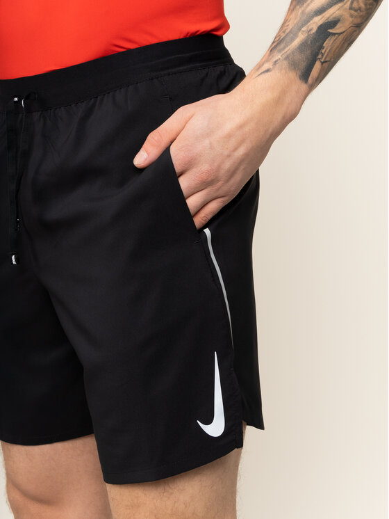 Nike Nike Szorty sportowe Flex Stride AJ7779 Czarny Standard Fit