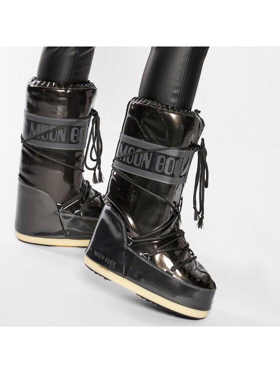 Moon Boot Moon Boot Cizme de zăpadă Vinile Met. 14021400001 Negru