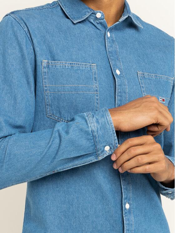 Tommy Jeans Tommy Jeans Cămașă Tjm Denim DM0DM07535 Albastru Regular Fit