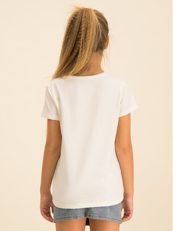 Guess Guess T-Shirt J01I03 K82K0 Bílá Regular Fit