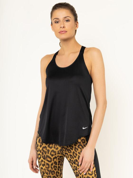 Nike Nike Koszulka techniczna Dri-Fit AO9791 Czarny Standard Fit