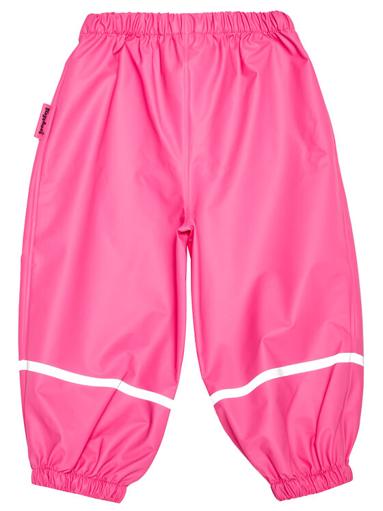 Playshoes Playshoes Spodnie materiałowe 405421 M Różowy Regular Fit