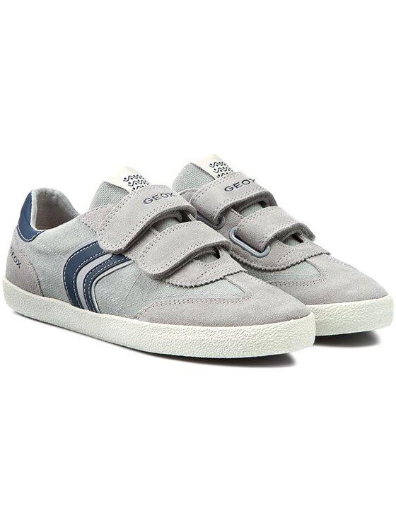 Geox Geox Chaussures basses J Kiwi B. M J52A7M 01022 C0665 Gris