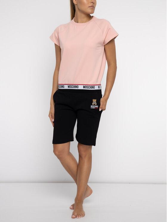 Moschino Underwear & Swim Moschino Underwear & Swim Marškinėliai A1703 9027 Rožinė Regular Fit