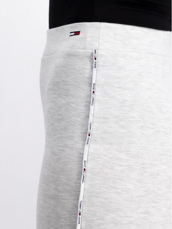 Tommy Jeans Tommy Jeans Ceruzaszoknya Tjw Piping DW0DW06872 Szürke Slim Fit