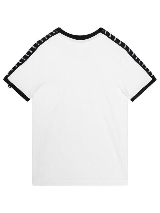 Timberland Timberland T-Shirt T45814 Biały Regular Fit