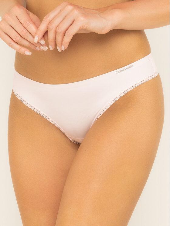 Calvin Klein Underwear Calvin Klein Underwear Бикини тип прашка 000QF4480E Розов