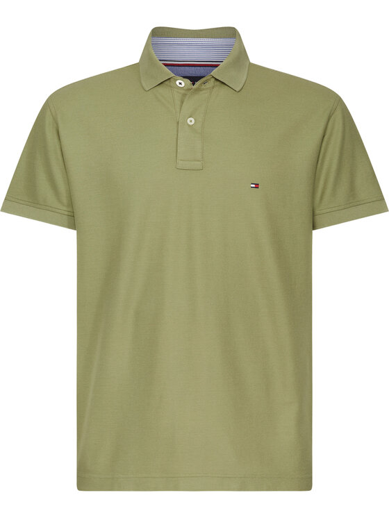 TOMMY HILFIGER TOMMY HILFIGER Polo MW0MW10766 Vert Regular Fit