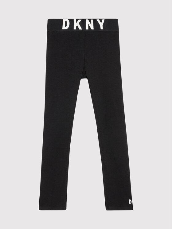DKNY DKNY Leggings D34A27 M Crna Slim Fit