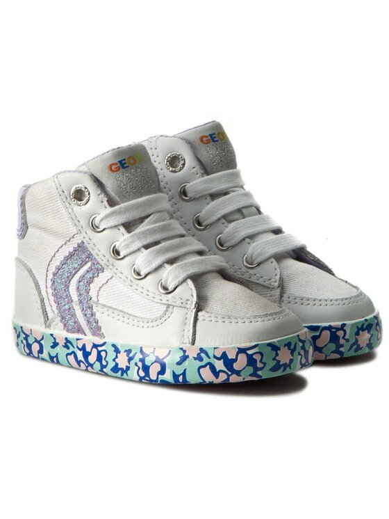 Geox Geox Обувки B Kiwi G. E B62D5E 01085 C0761 Бял