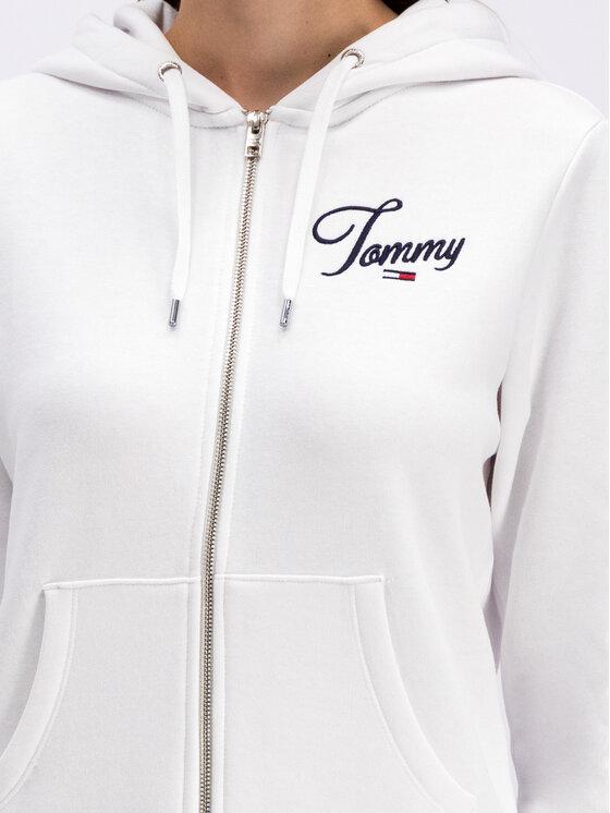 Tommy Jeans Tommy Jeans Felpa Essential DW0DW07121 Bianco Regular Fit