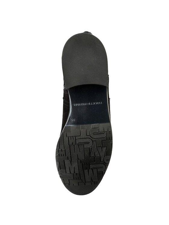 Tommy Hilfiger Tommy Hilfiger Stivali al ginocchio Tessa 3C FW0FW01434 Nero