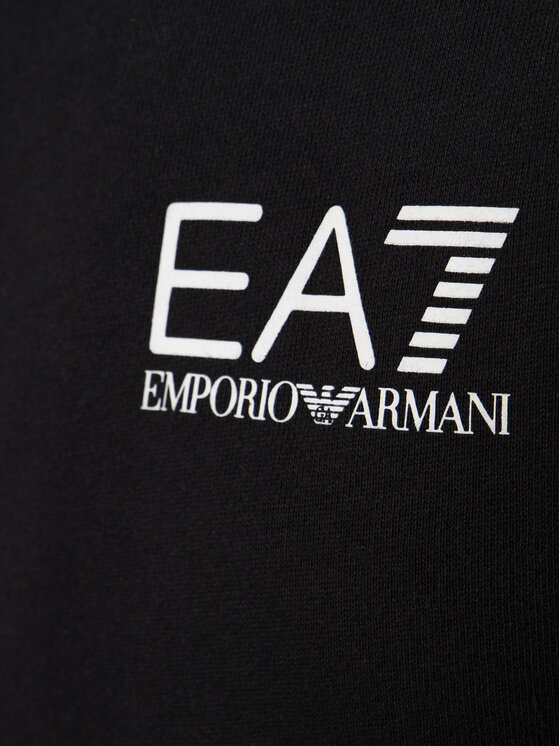 EA7 Emporio Armani EA7 Emporio Armani Μπλούζα 6GPM31 PJ07Z 1200 Μαύρο Regular Fit