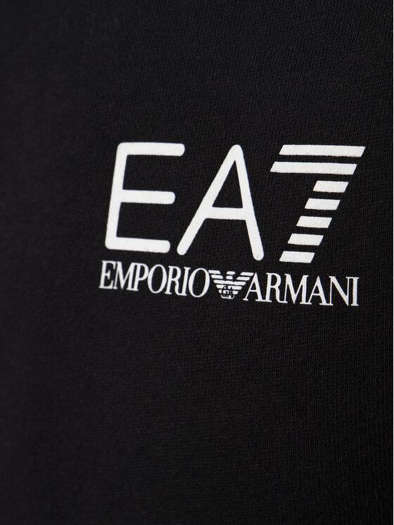 EA7 Emporio Armani EA7 Emporio Armani Sweatshirt 6GPM31 PJ07Z 1200 Schwarz Regular Fit