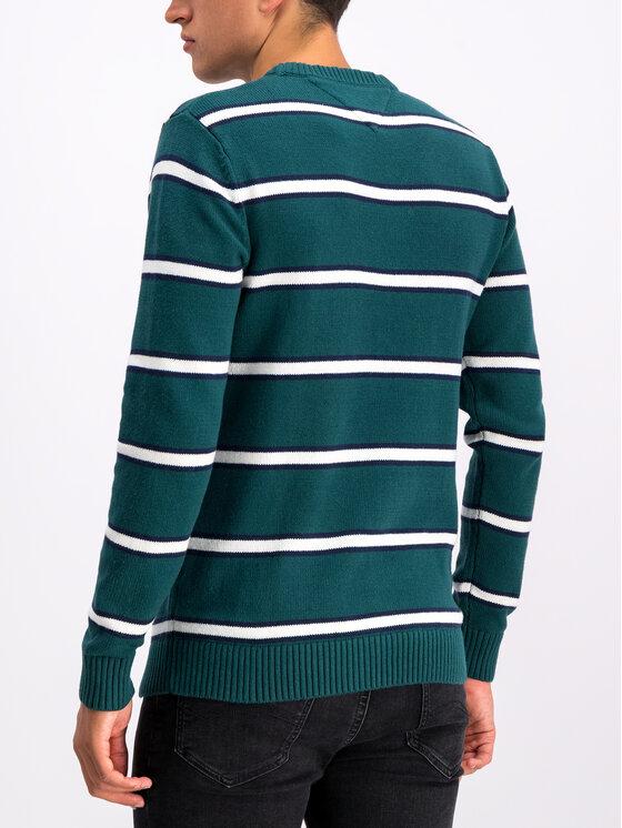 Tommy Jeans Tommy Jeans Pulover Tjm Fine DM0DM07001 Verde Regular Fit