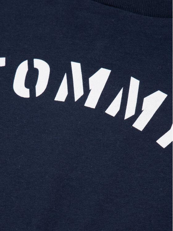 Tommy Hilfiger Tommy Hilfiger T-Shirt Essential Graphic Tee KB0KB05427 M Σκούρο μπλε Regular Fit