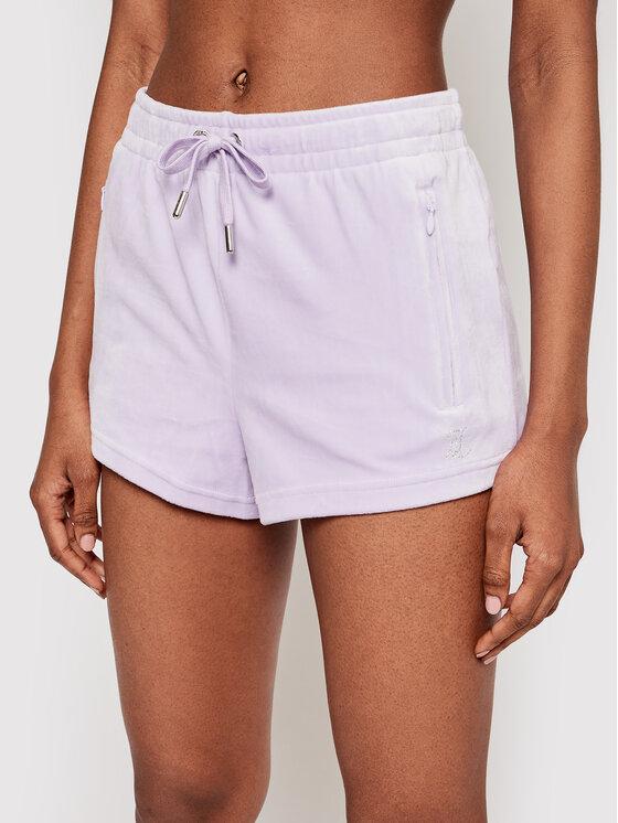Juicy Couture Sportiniai šortai Tamia JCWH121001 Violetinė Regular Fit
