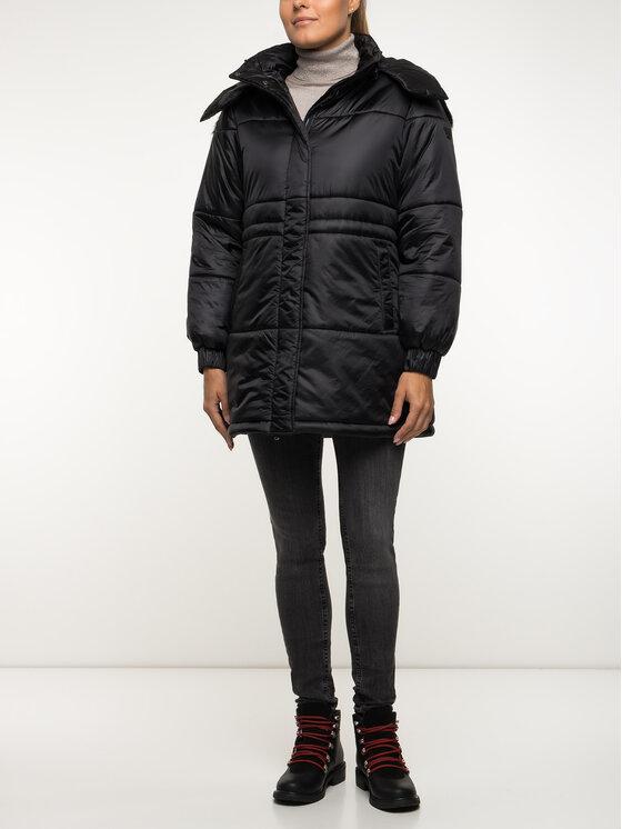 Emporio Armani Emporio Armani Žieminis paltas 6G2L77 2NUNZ 0999 Juoda Regular Fit