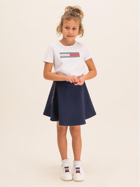 Tommy Hilfiger Tommy Hilfiger T-Shirt KG0KG04468 S Weiß Regular Fit