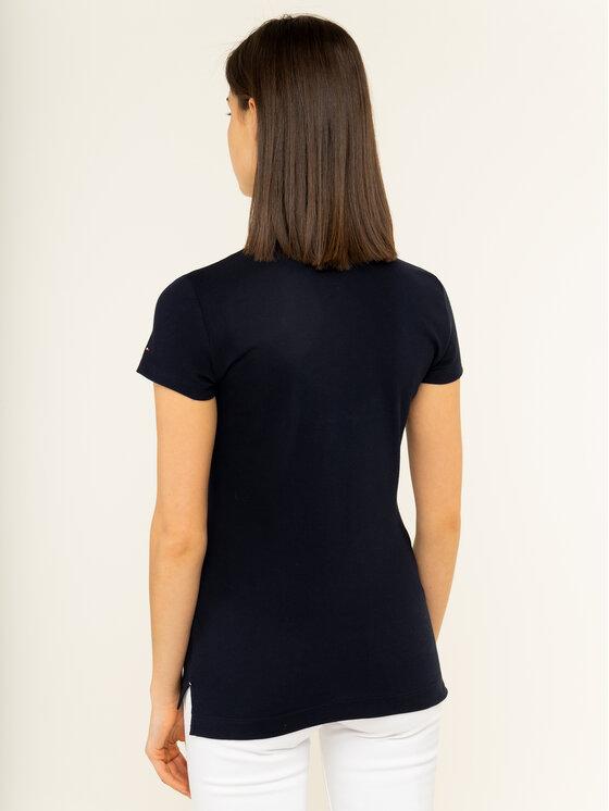 Tommy Hilfiger Tommy Hilfiger Polo marškinėliai Th Essential WW0WW26250 Tamsiai mėlyna Slim Fit