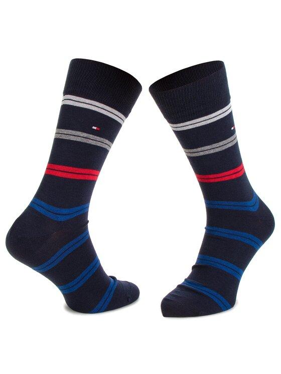 TOMMY HILFIGER TOMMY HILFIGER Σετ ψηλές κάλτσες ανδρικές 5 τεμαχίων 482010001 Σκούρο μπλε