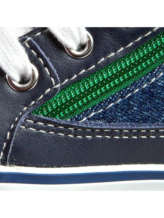 Geox Geox Sneakers aus Stoff B Kiwi B. F B62A7F 01385 C4248 Dunkelblau