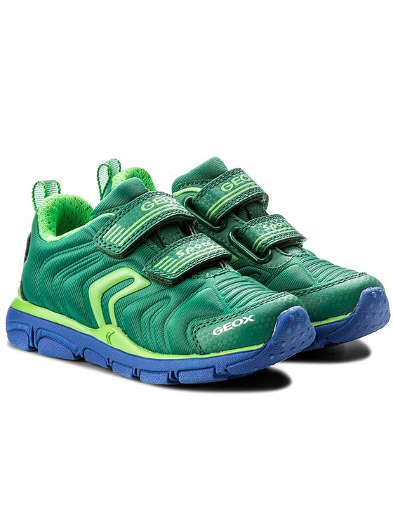 Geox Geox Обувки J Torque B.A J7436A 00015 C3000 M Зелен