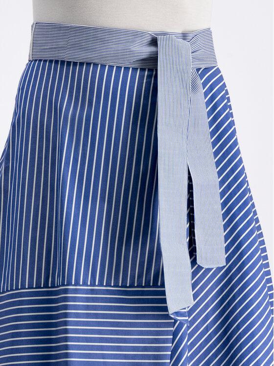 Marella Marella Jupe trapèze 31010495 Bleu Regular Fit