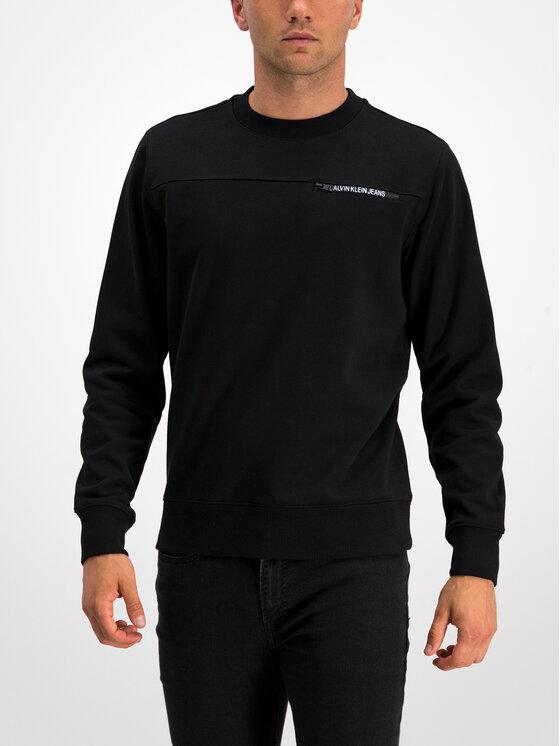 Calvin Klein Jeans Calvin Klein Jeans Sweatshirt J30J313678 Schwarz Regular Fit