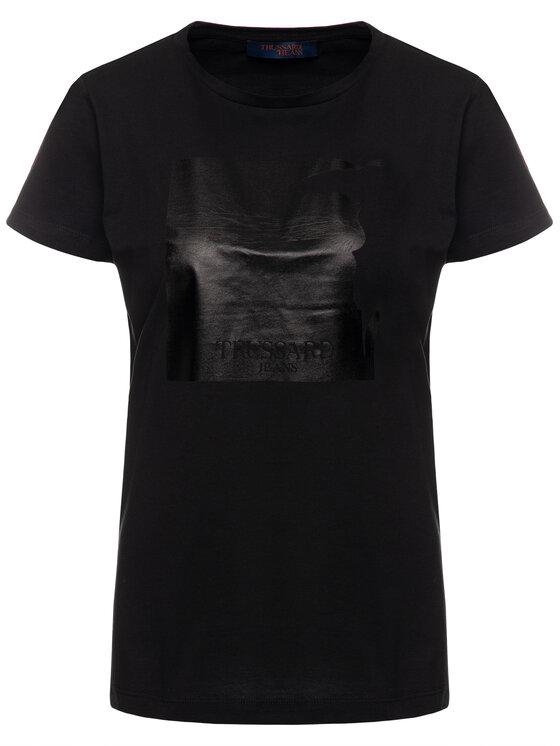 Trussardi Jeans Trussardi Jeans T-shirt 56T00207 Noir Regular Fit