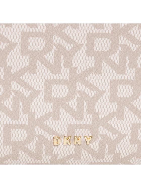 DKNY DKNY Zestaw kosmetyczek Triple Pouch R11LQM33 Biały