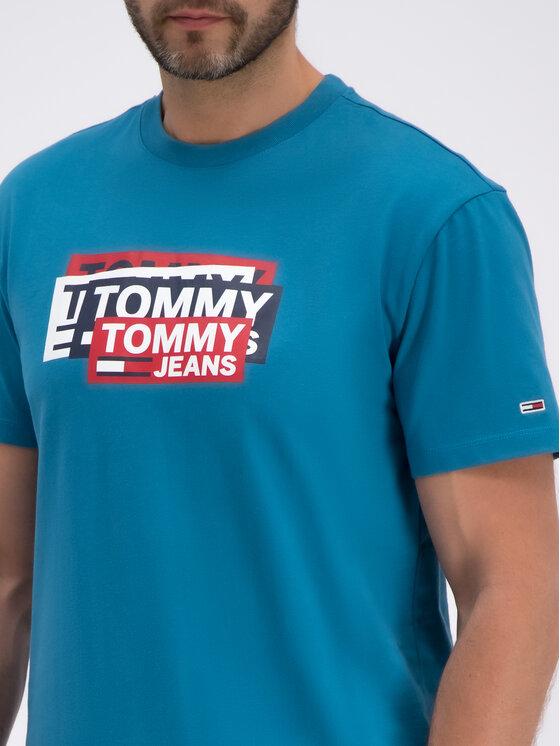 Tommy Jeans Tommy Jeans T-Shirt DM0DM06498 Μπλε Regular Fit