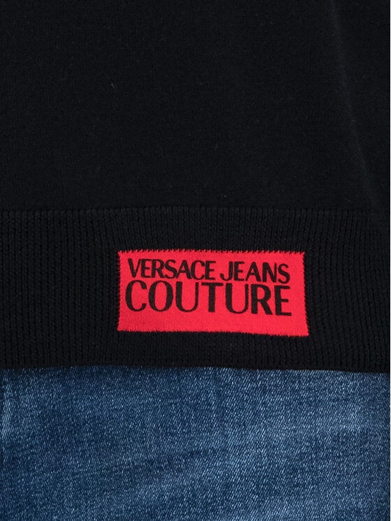 Versace Jeans Couture Versace Jeans Couture Πουλόβερ B5GUA817 Μαύρο Regular Fit