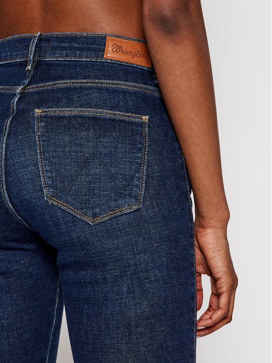 Wrangler Wrangler Jeansy Skinny Fit Body Bespoke W27HVH78Y Granatowy Skinny Fit