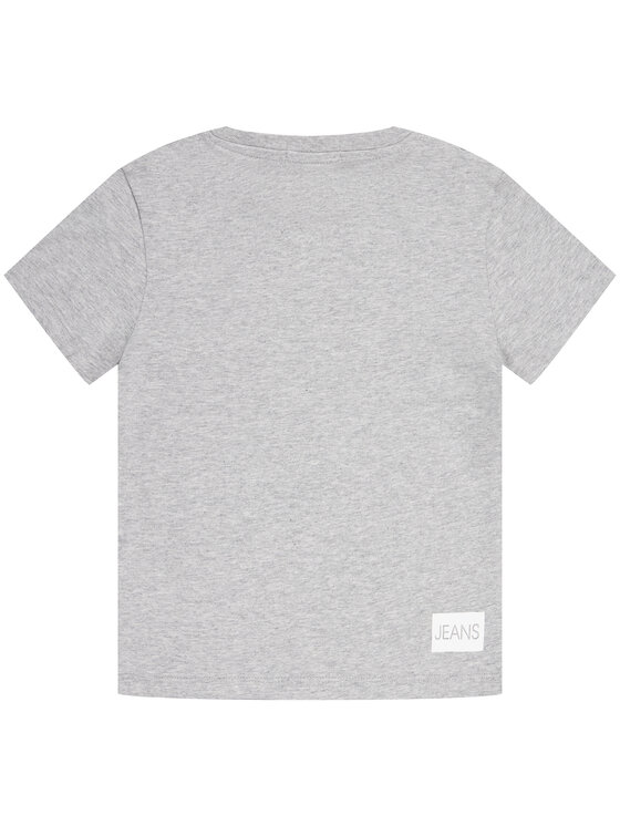 Calvin Klein Jeans Calvin Klein Jeans T-Shirt Institutional SS IB0IB00347 Grau Regular Fit