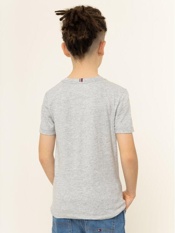 Tommy Hilfiger Tommy Hilfiger T-shirt Graphic Tee KB0KB05427 D Gris Regular Fit